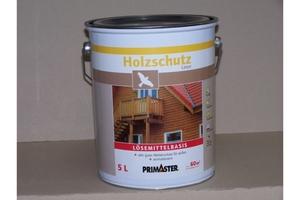 Primaster Holzschutzlasur lösemittelhaltig ebenholz 5 l