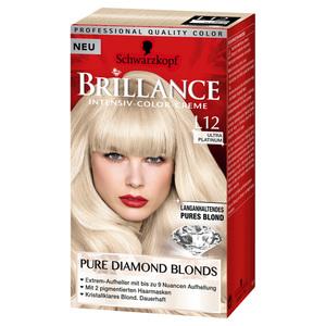 Schwarzkopf Brillance              Intensiv-Color-Creme Pure Diamond Blonds