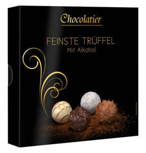 Chocolatier   Trüffelpralinen-Mischung mit Alkohol 200g