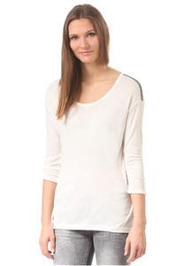 Rich & Royal 45q574 - Langarmshirt für Damen - Weiß