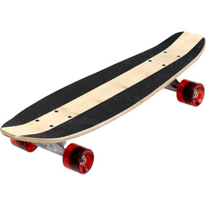 Skateboard - braun/schwarz