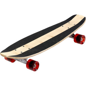 Skateboard - rot/schwarz