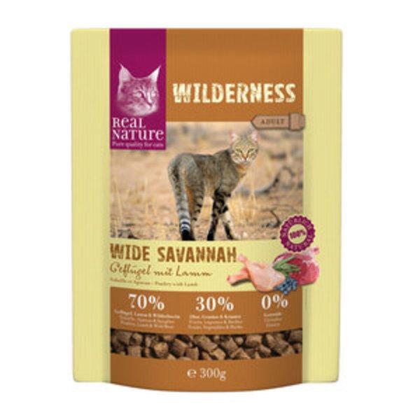 real nature wilderness adult wide savannah gefl gel mit lamm von fressnapf ansehen. Black Bedroom Furniture Sets. Home Design Ideas