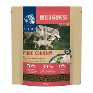 REAL NATURE WILDERNESS Pure Country Junior Huhn mit Fisch