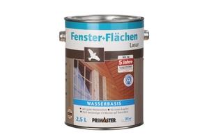 Primaster Fenster- und Flächenlasur   2,5 l, teak