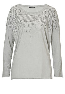 Betty Barclay - Damenshirt, Bright Grey - Weiß