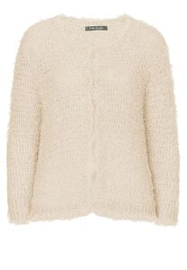 Betty Barclay - Strickjacke, Marble Beige - Braun