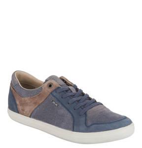 GEOX   RESPIRA Sneaker, Canvas, Leder