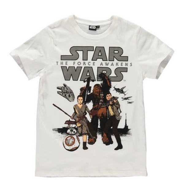 Star Wars T Shirt Chewbacca Front Print Baumwolle Fur Jungen