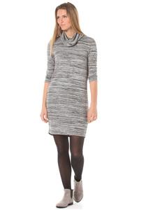Bench Nest - Kleid für Damen - Grau