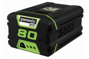 Greenworks Akku 80 Volt, 2 Ah, Li-Ion