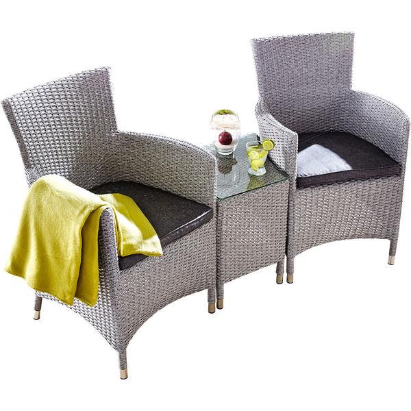 hartman lounge set bentley royal grau von karstadt ansehen. Black Bedroom Furniture Sets. Home Design Ideas