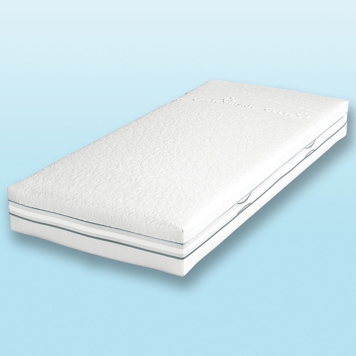 schlaraffia platin 240 geltex inside. Black Bedroom Furniture Sets. Home Design Ideas