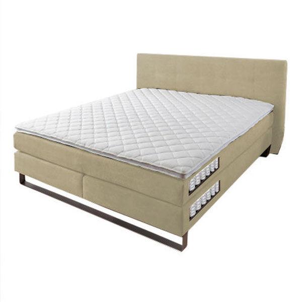 beco exquisit boxspring bett pattino beige von karstadt. Black Bedroom Furniture Sets. Home Design Ideas