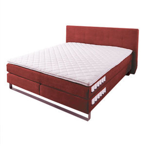 BeCo exquisit Boxspring-Bett PATTINO, rot