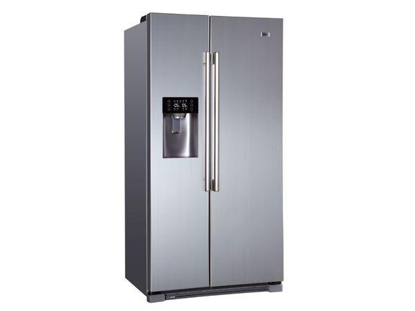 Amerikanischer Kühlschrank Geringe Tiefe : Haier side by side kühlschrank hrf if von lidl ansehen