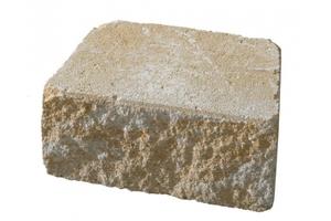 KANN Mauerstein Vigneto sandsteingelb 24 x 18 x 12 cm, gebrochen und gekollert