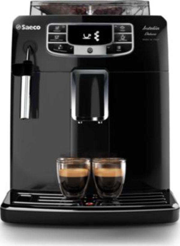 saeco intelia deluxe hd 8902 01 kaffeevollautomat von ansehen. Black Bedroom Furniture Sets. Home Design Ideas