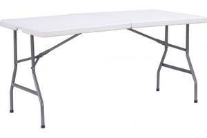 TrendLine Tisch Kunststoff  klappbar