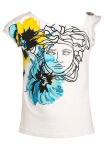 Young Versace TShirt print blue