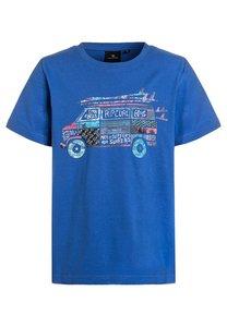 Rip Curl TShirt print college blue