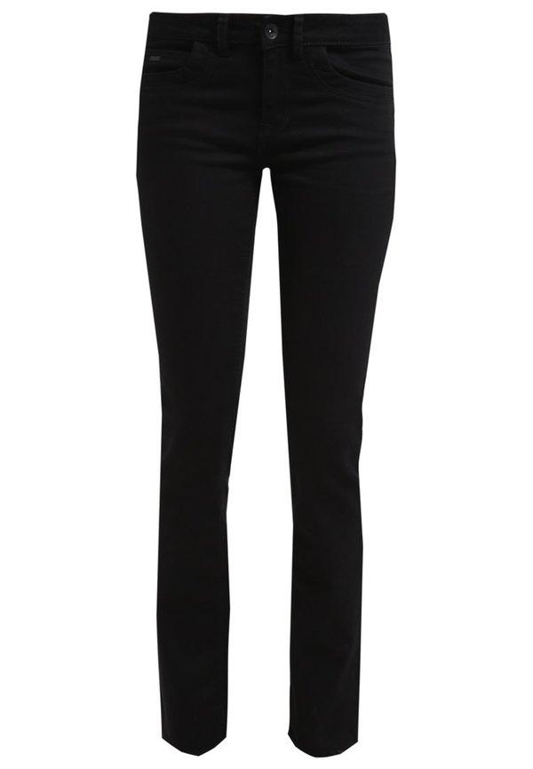 tom tailor alexa jeans straight leg black von zalando ansehen. Black Bedroom Furniture Sets. Home Design Ideas