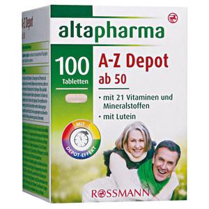 altapharma              A-Z Depot ab 50