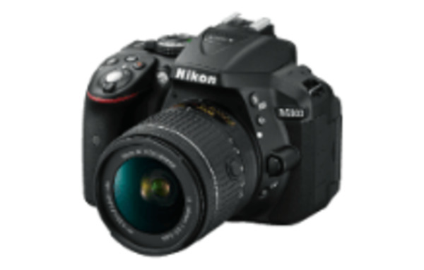 nikon d5300 spiegelreflexkamera 24 2 megapixel mit objektiv 18 55 mm f 3 5 5 6 8 1 cm von media. Black Bedroom Furniture Sets. Home Design Ideas
