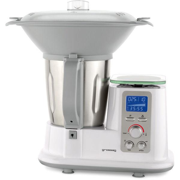 Grossag Multifunktions-Küchenmaschine mit Kochfunktion MKM 100 von ...