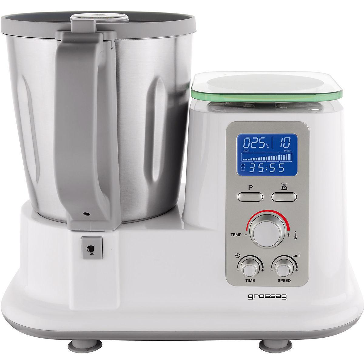 Quigg Handmixer: Grossag Multifunktions-Küchenmaschine Mit Kochfunktion MKM