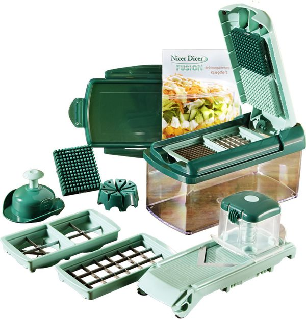 genius nicer dicer fusion 13 teilig von karstadt ansehen. Black Bedroom Furniture Sets. Home Design Ideas