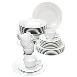 "Seltmann Weiden Porzellan-Kaffee-Set ""Monaco"", 18-teilig"