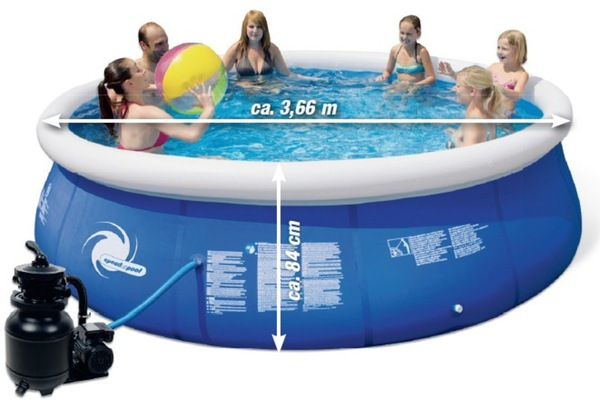 Pool set speed up von toom ansehen for Pool set angebote