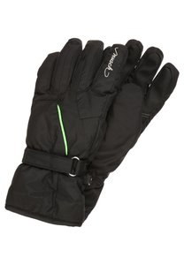 Reusch HELENA Fingerhandschuh black /neon green