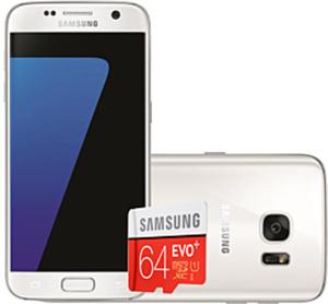 Samsung Galaxy S7 Weiß mit Speicherkarte