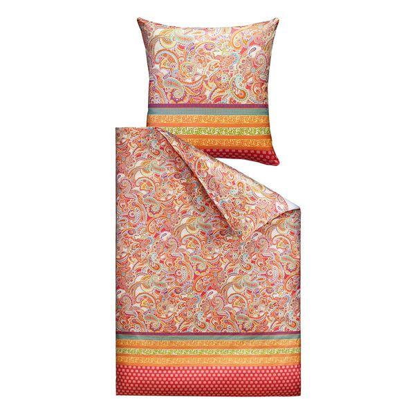 ibena satinbettw sche paisley 135x200 cm mehrfarbig von. Black Bedroom Furniture Sets. Home Design Ideas
