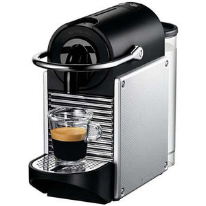 DeLonghi Nespresso-Automat Pixie EN125.S, Electric Aluminium