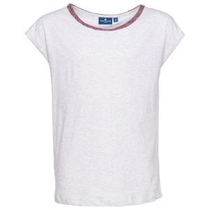 T-Shirt mit Zierblende