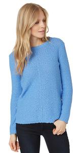 strukturierter Baumwoll-Pullover