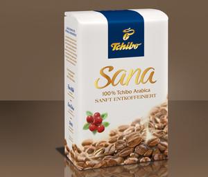 Sana (entkoffeiniert) - Gemahlen