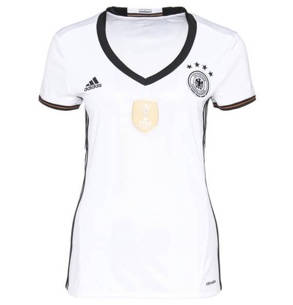 ADIDAS DAMEN TRIKOT DFB Deutschland EM 2016 Home 4 Sterne