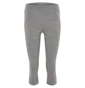 ESPRIT   Leggings, 3/4-Länge, E-Dry, meliert, Kontrastnähte, für Damen