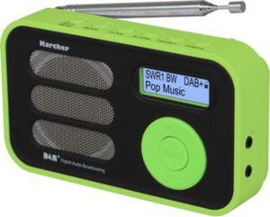 Karcher DAB 2410 tragbares DAB+ Radio - grün