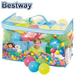 Ersatzbälle 100er für Bestway Bällebad