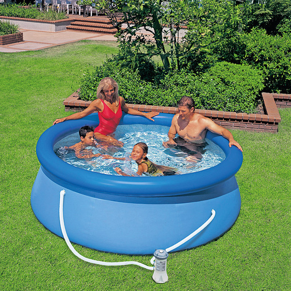 Intex easy pool set von bauhaus ansehen for Gartenpool netto