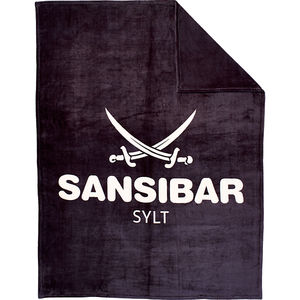 "Sansibar Microfaser Flauschdecke ""Sansibar"" 150x200 cm, anthrazit"