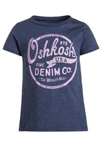 OshKosh TShirt print blue melange