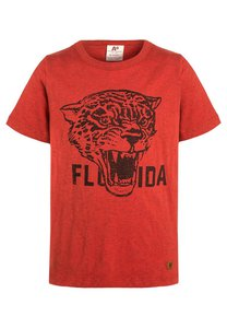 American Outfitters TShirt print heather red
