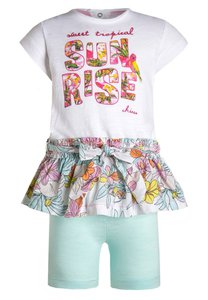 Chicco SET Freizeitkleid white