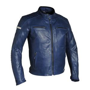 Richa Daytona Lederjacke blau
